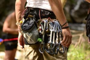 Karabinerhaken für Kletterer