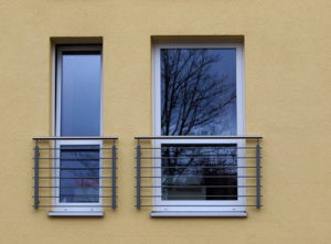 Absturzsicherung am Fenster