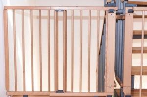 Absturzsicherung Gitter Treppe